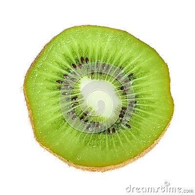 Free Beautiful Slice Of Fresh Juicy Kiwi Royalty Free Stock Images - 22972389