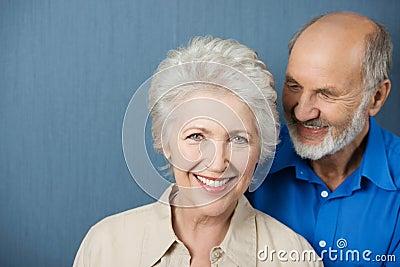 Beautiful smiling elderly woman