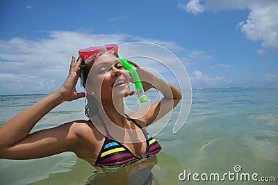 Beautiful snorkel