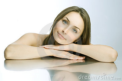 Beautiful Spa Woman portrait