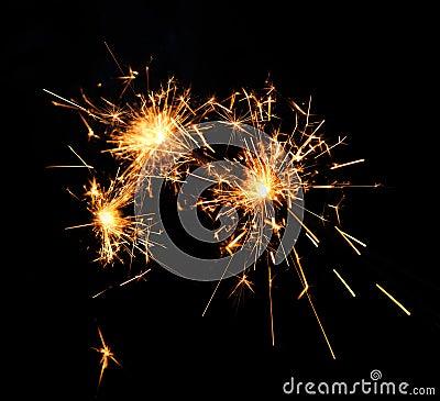 Beautiful sparkler