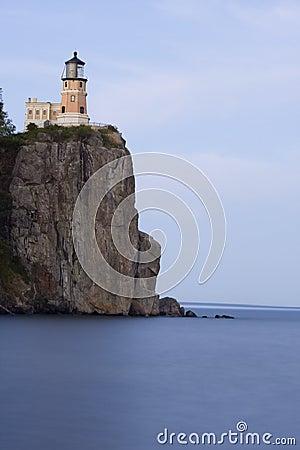Beautiful Split Rock Lighthouse on Lake Superior