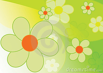 Beautiful spring background - flowers