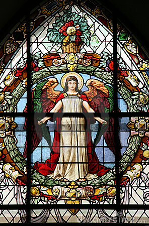 Free Beautiful Stained Glass Window Stock Images - 10534034