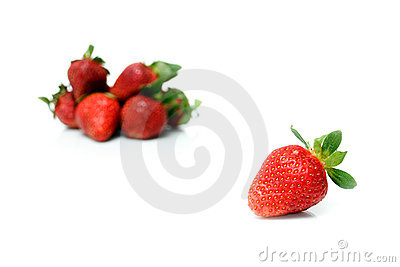 Beautiful strawberries