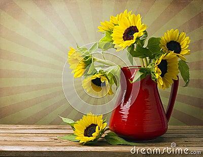 Beautiful sunflower bouquet