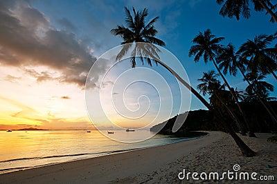 Beautiful sunrise at Beach
