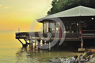 Beautiful sunset scenery Langkawi