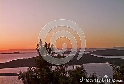 Beautiful Sunset in Turkey