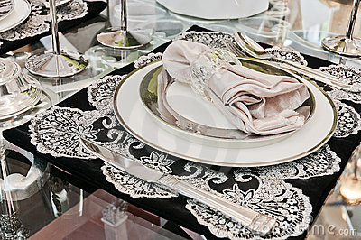 Beautiful tableware