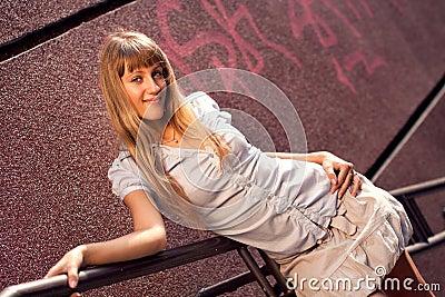 Beautiful tanned girl
