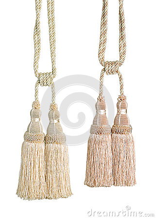 Beautiful tassels