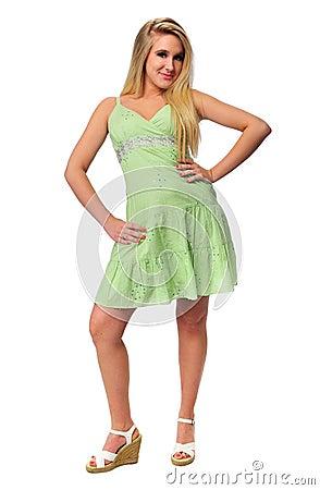 Free Beautiful Teen Girl Model Royalty Free Stock Photo - 5270145