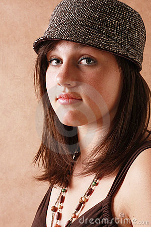 Beautiful teenage girl