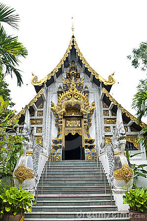 Beautiful temple in Thailand.