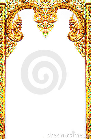 Beautiful Thai Art Frame Stock Image Image 22082671