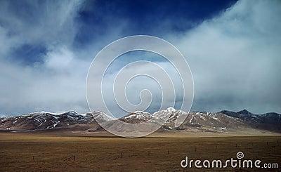 Beautiful tibetan plateau