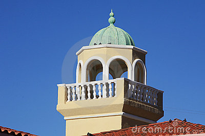 Beautiful tower as viewing deck