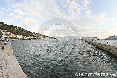 Beautiful town of Baska