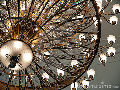 Beautiful traditional chandelier