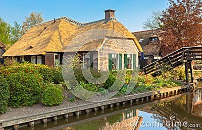 Beautiful traditional Dutch house