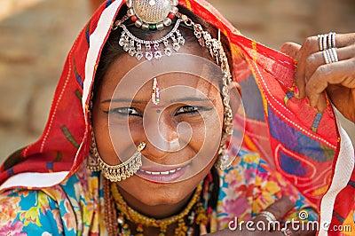 Beautiful Traditional Indian woman