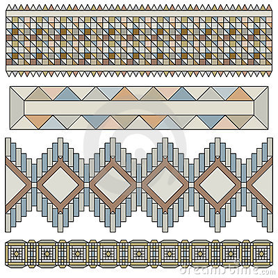 Beautiful trim or border collection