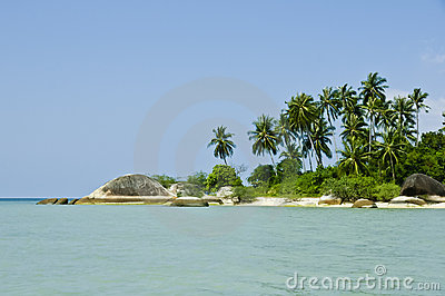 Beautiful tropical beach on Ko Pha Ngan