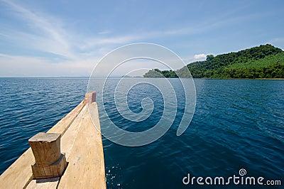Beautiful tropical island destination