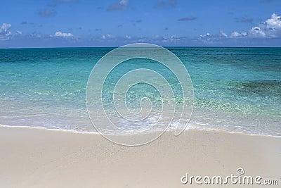 Beautiful tropical shoreline