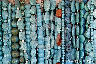 Beautiful turquoise gemstone necklaces
