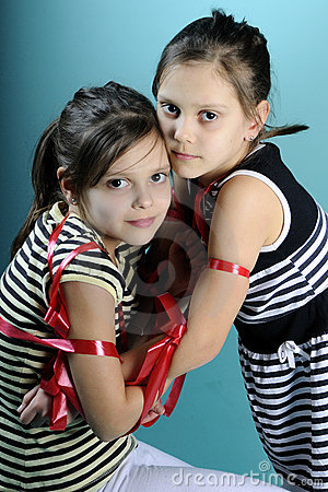 beautiful twins portraits