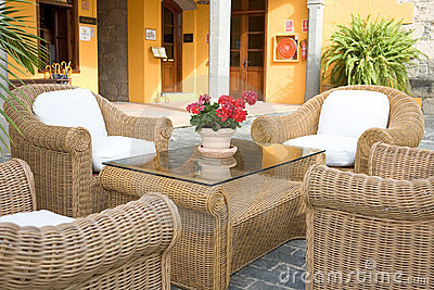 Beautiful typical patio