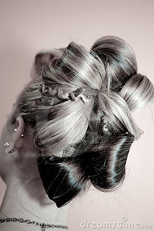 Beautiful Up-do Hairstyle