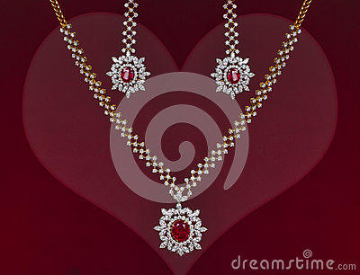 Beautiful Valentines Gift of a Jewelry Set
