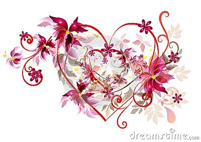 Beautiful valentines heart design stock image image 24942281 - Beautiful dizain image ...