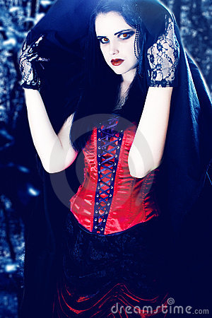 Beautiful vampire