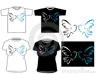 Beautiful vector t-shirt desig