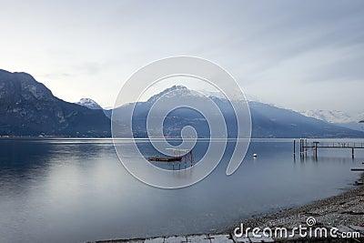 Beautiful view of Como Lake from Bellagio