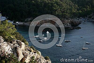 Beautiful View In Ibiza