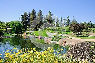 Beautiful View Of Japanese Garden Stock Photo Image