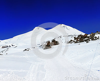 Beautiful view of mountaint Elbrus