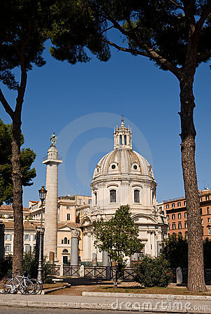 Free Beautiful View Of The Rome Centre Royalty Free Stock Image - 7971166