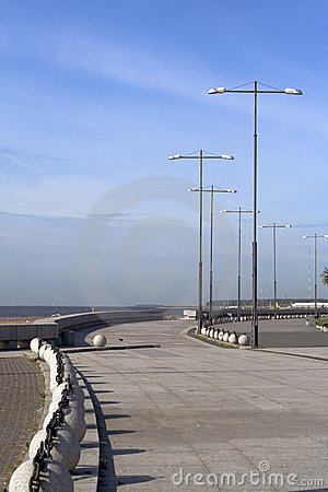 Beautiful view of seafront