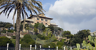 Beautiful Villa Gaslini in Genoa