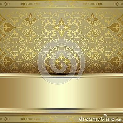 Beautiful vintage seamless pattern background