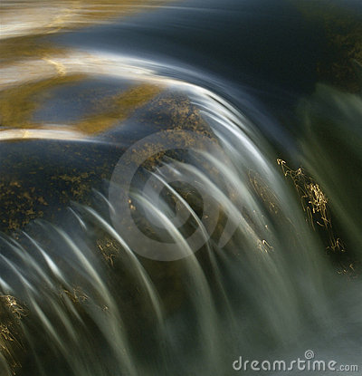 Free Beautiful Waterfall Close-up Royalty Free Stock Image - 1549516