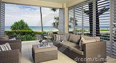 Beautiful waterfront suite with ocean views