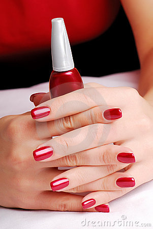 Beautiful well-groomed fingers