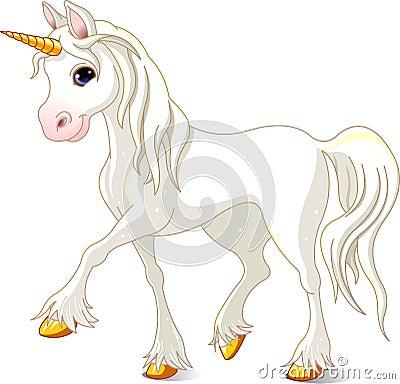 Beautiful White Unicorn